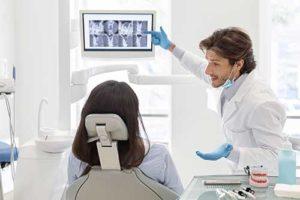 a man explains his orthodontics services